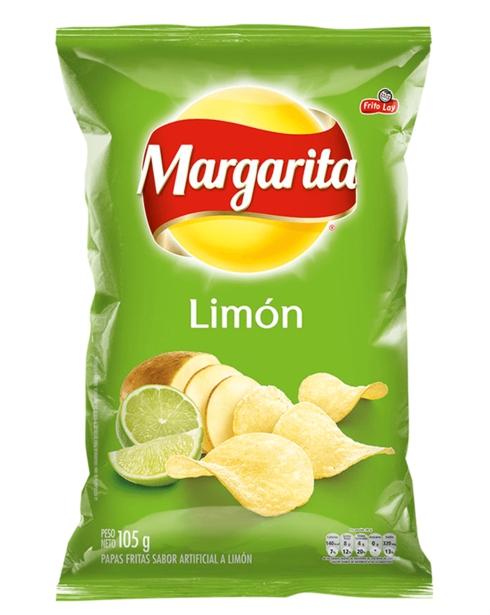 Papas Margarita limón x 105g